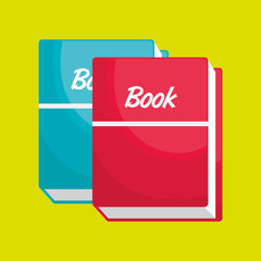 book isolated icon design, vector illustration  graphic