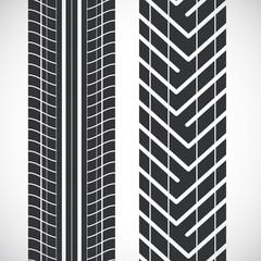 Tread pattern tyre.