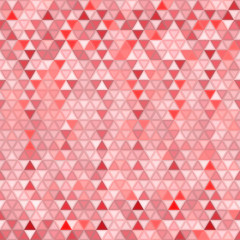 Abstract seamless background of triangles