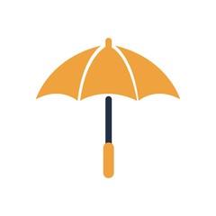 Umbrella logo symbol rainy season vector
