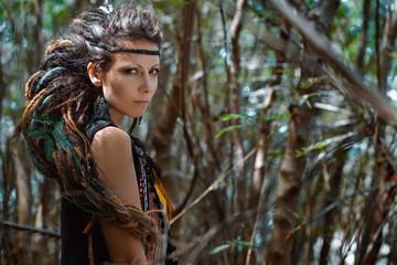 gypsy girl outdoors