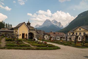 Panorami di Sesto Pusteria, Val Pusteria, Bolzano, Trentino Alto Adige, Italia