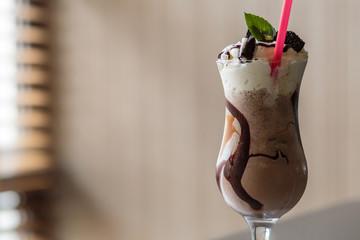 shake with cream