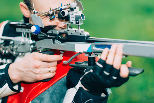 Sport shooting training - free rifle