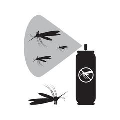 Mosquito spray icon