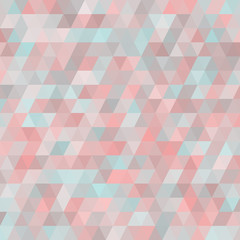 Geometric background with triangles. Random colors