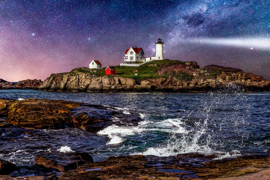 Cape Neddick Lighthouse (Explored)