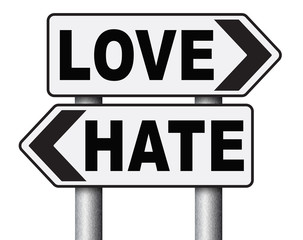 love hate emotions and connections intense feelings of affection like or dislike.