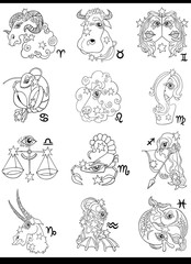 fantasy horoscope zodiac signs