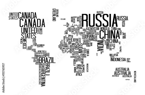 World map with countries name text world map letter world map world map with countries name text world map letter world map typography gumiabroncs Gallery