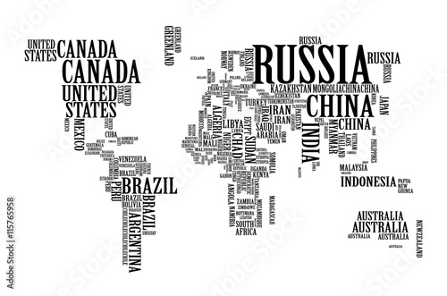 World map with countries name text world map letter world map world map with countries name text world map letter world map typography gumiabroncs Image collections
