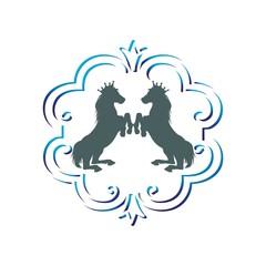 animal horse logo