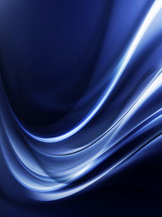 Abstract Light Blue Wave Design Background
