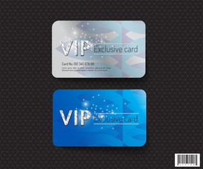 VIP card template design. luxury concept