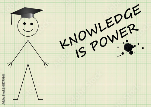 Knowledge Is Power Clip Art
