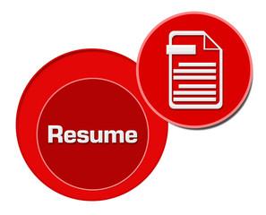 Resume Red Circles