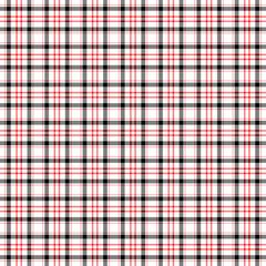 Seamless wall-paper, plaid, black-red
