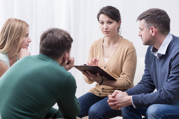 Difficult but satisfying role of a support group moderator