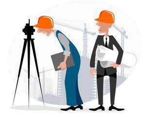 Surveyor and engineer