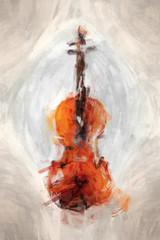 painted violine