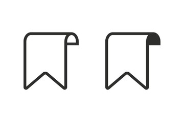 Bookmark - vector icon.