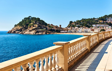 Tossa de Mar resort town. Spain