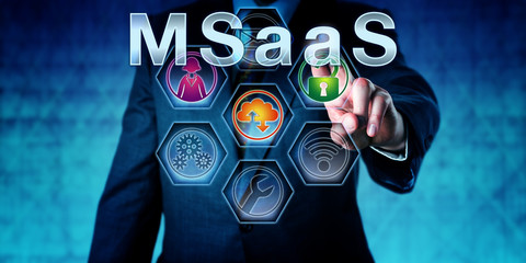 Business Manager Pushing MSaaS
