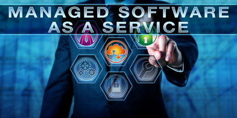 Manager Touching MANAGED SOFTWARE AS A SERVICE