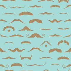 Composite image of mustaches