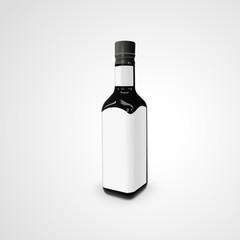 blank sauce bottle