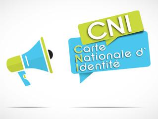 mégaphone : CNI