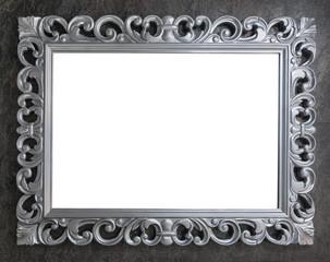 Carved blank frame