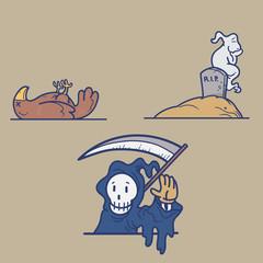 Death Cartoon
