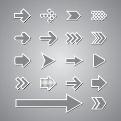 sticker arrow set