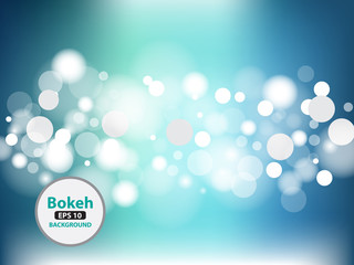 bokeh Vector Abstract light background