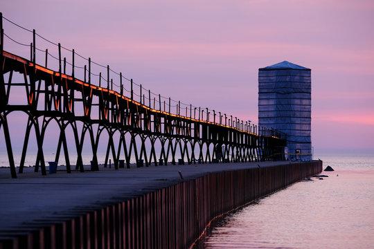 Point Betsie Lighthouse, built in 1870