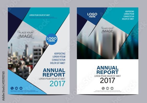 brochure layout magazine flyer modern design template annual report leaflet cover presentation background vector