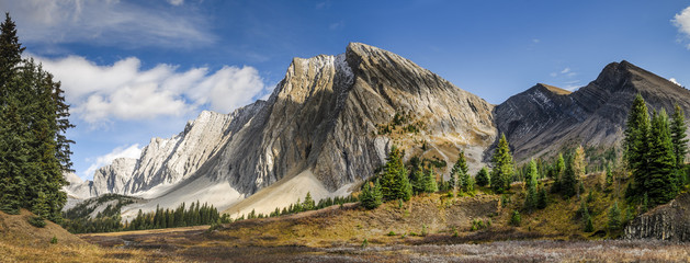 Beautiful fall mountain landscapes