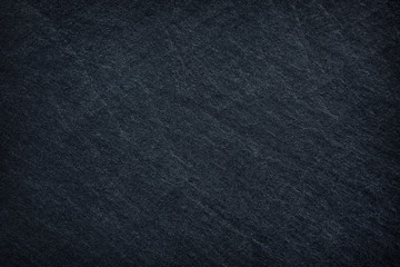 Dark black slate abstract background or texture.
