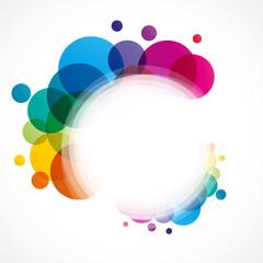 affiche colorée