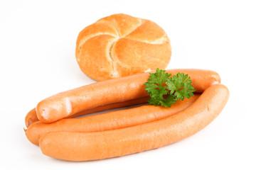 Schwanger Wiener Würstchen