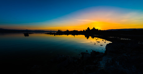 Mono Lake Sunrise South Tufa Famous California Landscape