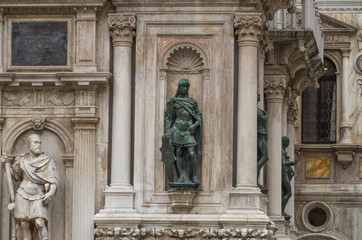 Venice Statues and Sculptures abound in the historical city of Northern Italy
