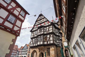 townhall alsfeld hessen germany