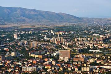 Cityscape of Skopje