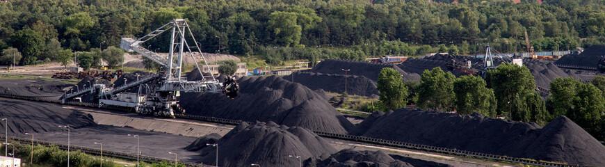 hard coal depot