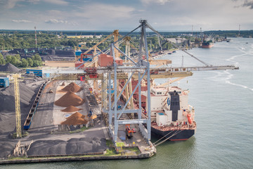 Transhipment port