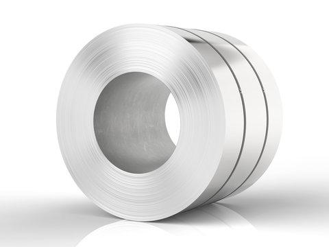 roll of steel sheet