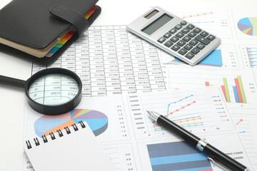 ビジネスイメージ ビジネスアイテムと資料