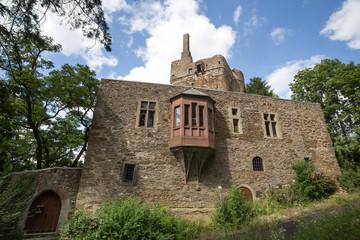castle ruin hermannstein hessen germany